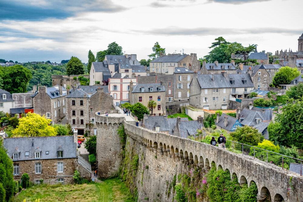 Dinan, la ciudad fortaleza de la Bretaña Francesa