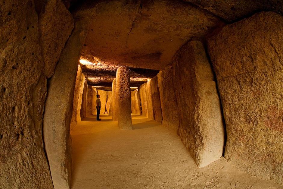 El Dolmen de Menga, el primero entre los monumentos más antiguos de España