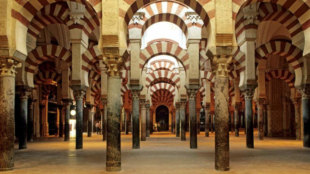 La Mezquita de Córdoba, otro de  los monumentos más antiguos de España
