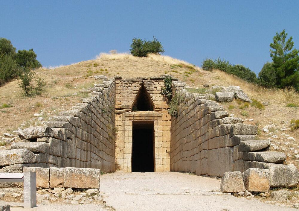 Tesoro de Atreo en Grecia
