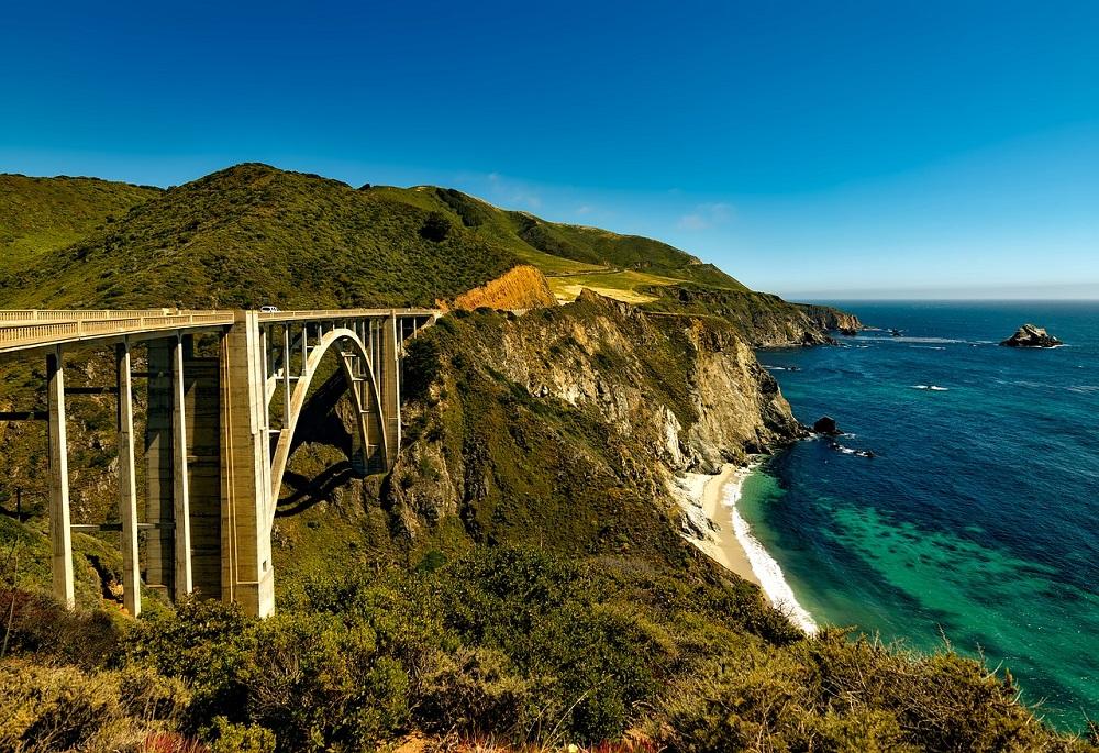 Ruta Pacific Coast Highway de Estados Unidos