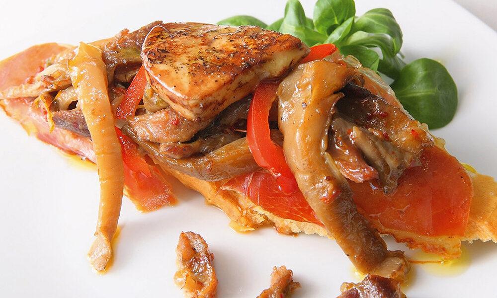 La gastronomia de Aragón destaca por sus carnes - Ternasco y jamón de teruel