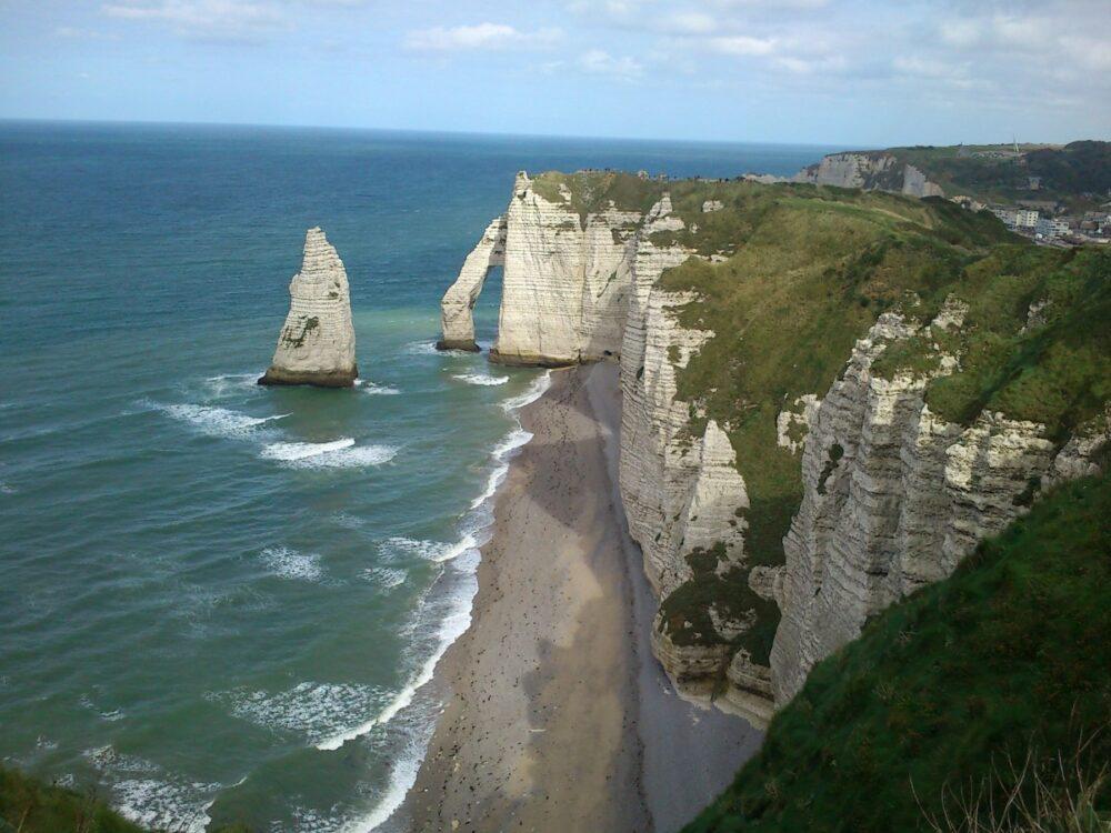 Acantilados de Etrait - Imprescindibles en tu viaje a Normandía