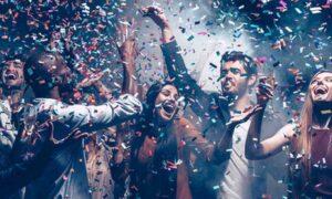 Fiesta fin de año en Zaragoza