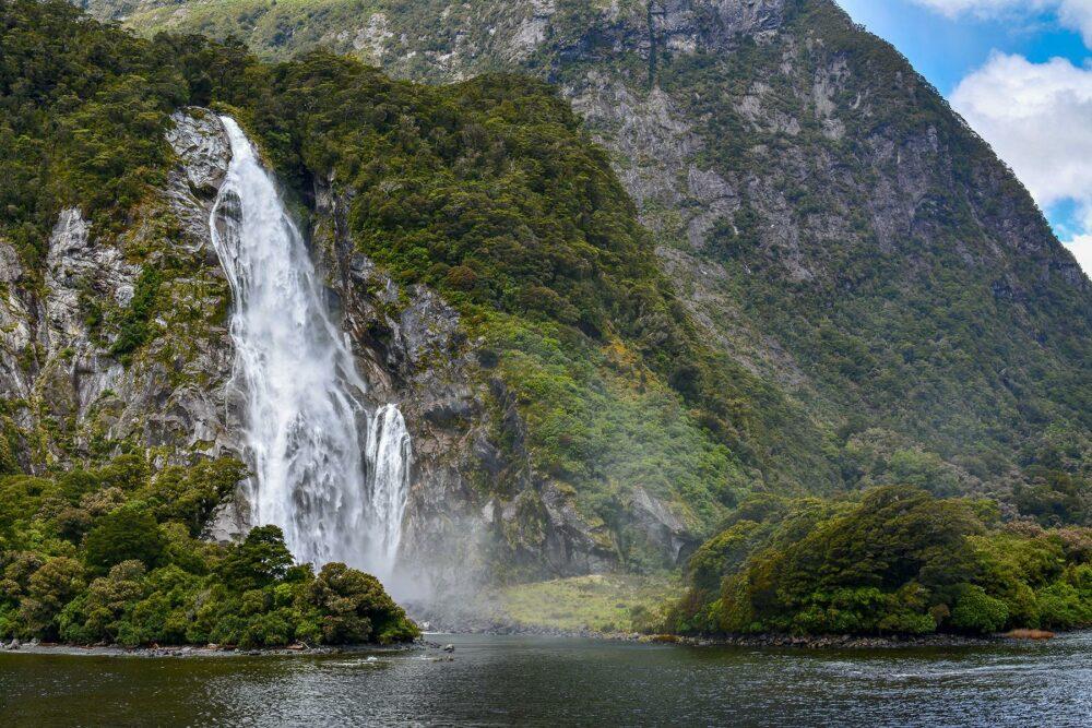 qué ver en Milford Sound - Cascadas espectaculares