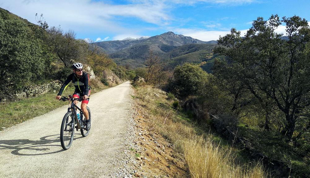 Vía de la Plata en bicicleta