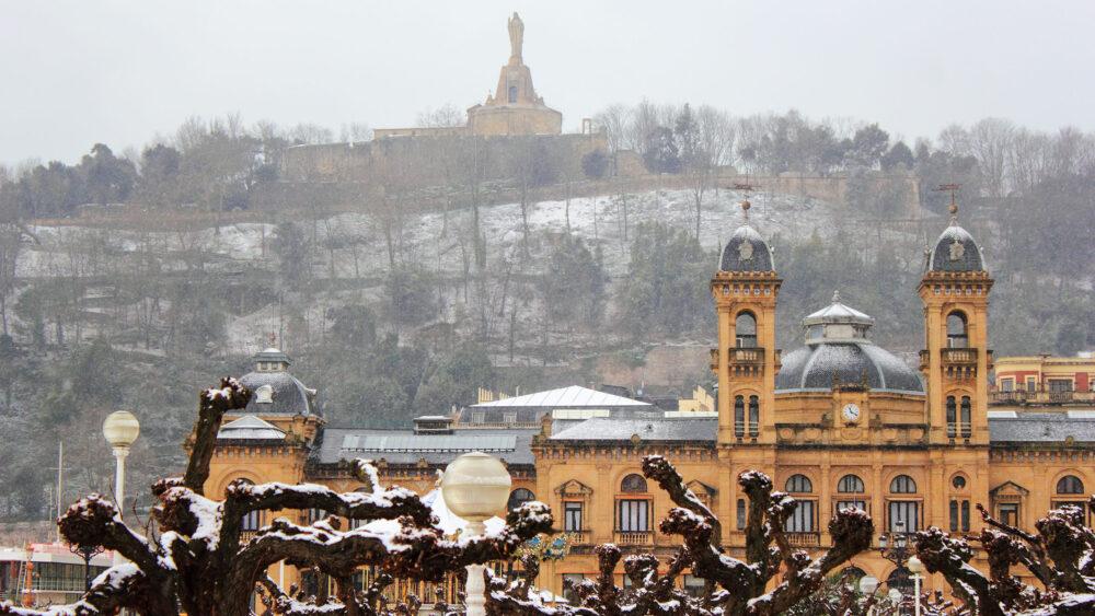 San Sebastián, una de las ciudades más bonitas de España en invierno