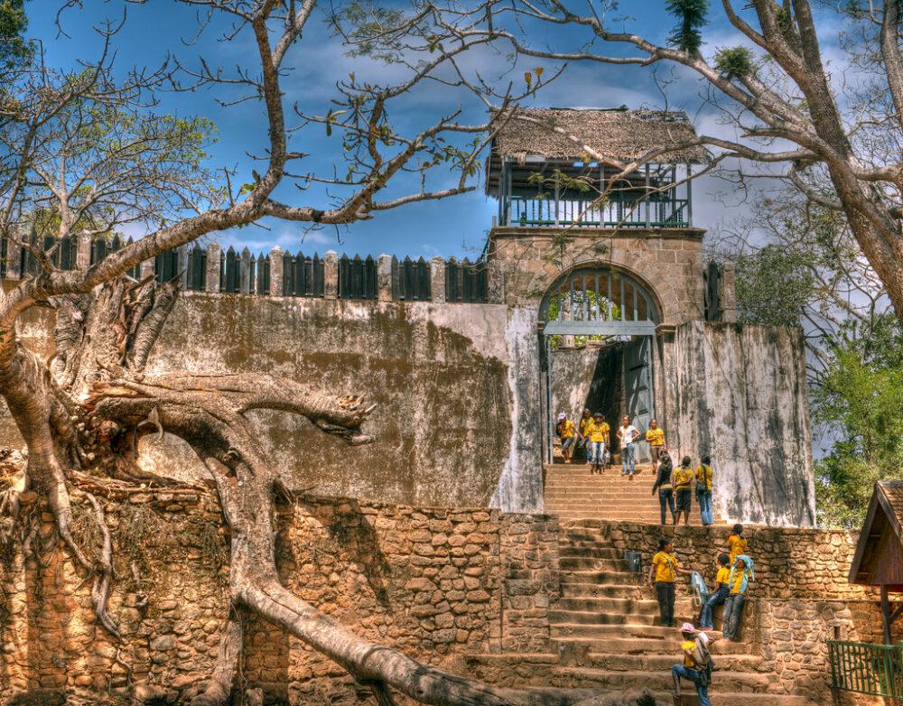 Antiguo palacio real Madagascar