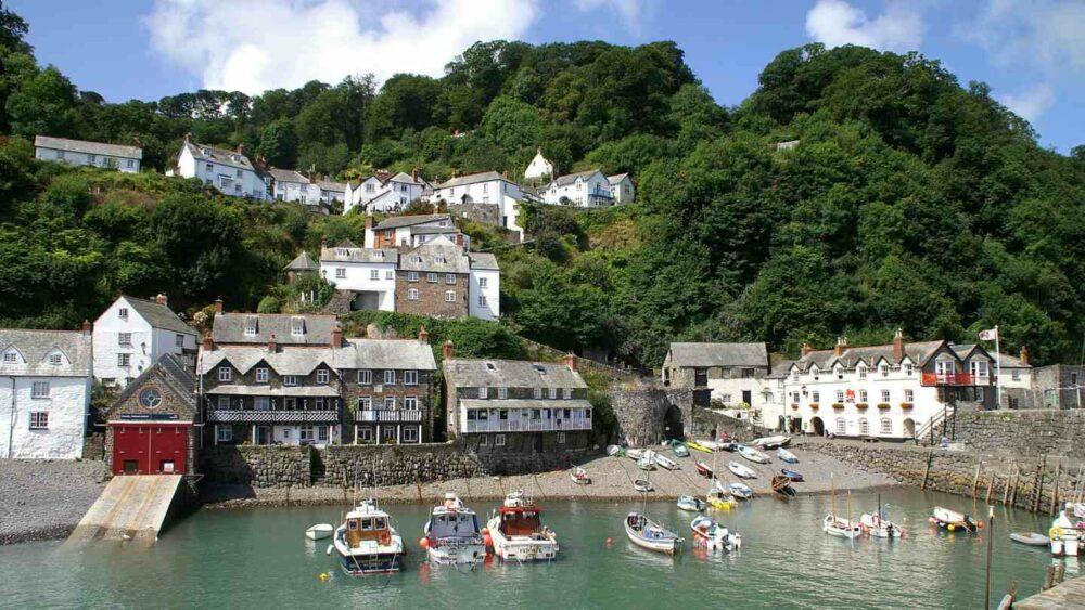 Clovelly, un curioso pueblo costero en Devon