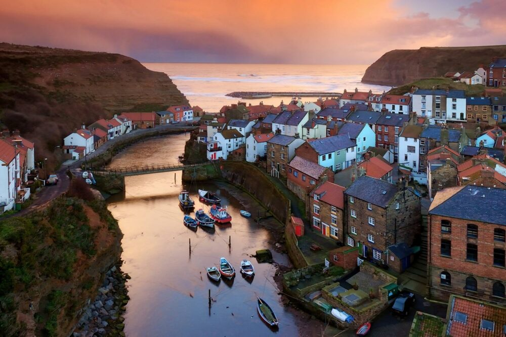 Uno de los pueblos costeros más bonitos de Inglaterra
