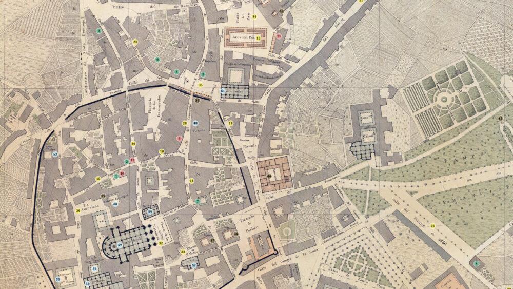 Mapa de Vetusta, el Oviedo de La Regenta