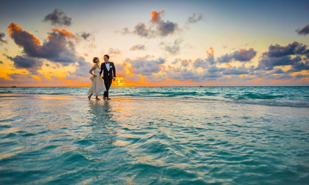 Los mejores destinos de viaje de novios