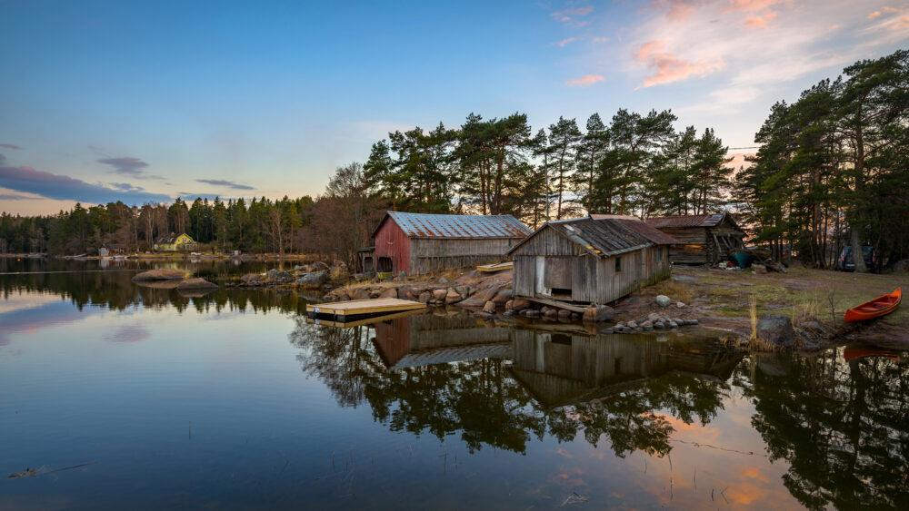 cuáles son los pueblos costeros más bonitos de Finlandia