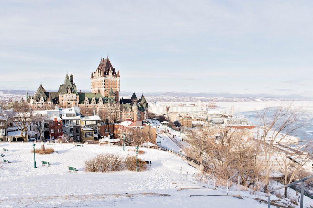 Quebec, un viaje de novios diferente